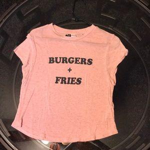H&M Burger + Fries Top